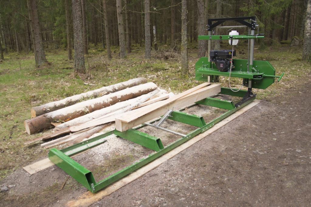 KELLFRI SÄGEWERK Benzinmotor 2