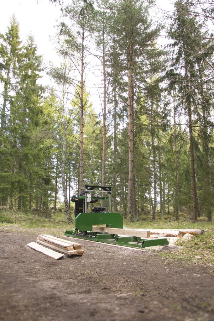 Kellfri Sägewerk E-Motor 9