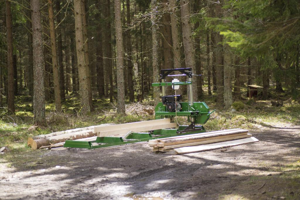 KELLFRI SÄGEWERK Benzinmotor 4