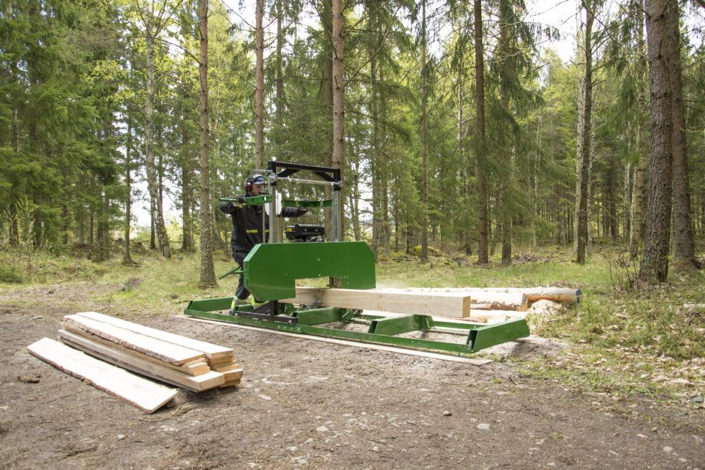 KELLFRI SÄGEWERK Benzinmotor 5