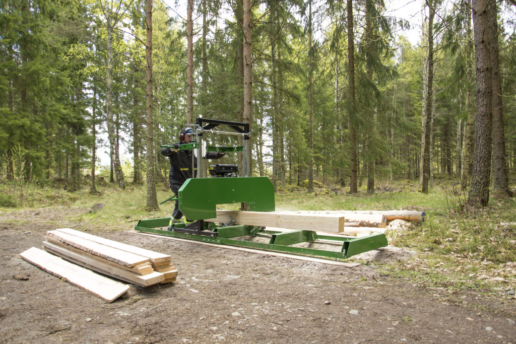 Kellfri Sägewerk E-Motor 14