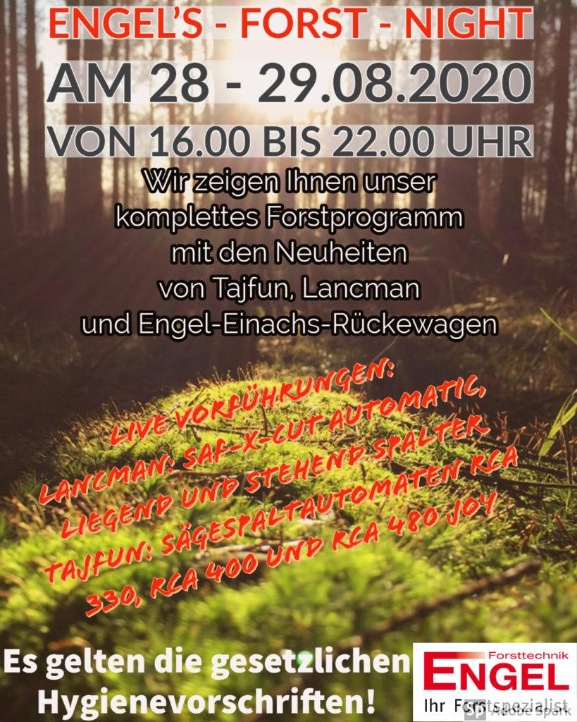 Engel's - Forst - Night 1